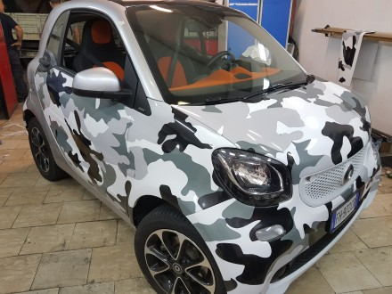 Smart 2017 CAR WRAPPING Napoli